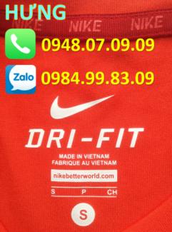 In chuyển nhiệt nhãn size, logo trên quần áo thể thao