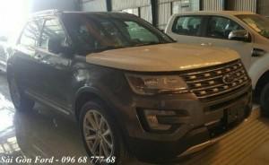 Ford Explorer giá rẻ tại Vĩnh Long, chỉ cần trả trước 436 triệu, tặng Full phụ kiện, giao xe nhanh