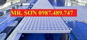 Tấm sàn lưới sợi thủy tinh, kháng hóa chất, chống ăn mòn, composite - mới 100%