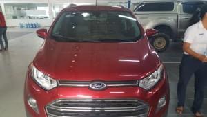 Ford ecosport titanium2014 đỏ xe đẹp chất giá hợp lý