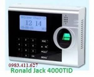 Máy chấm công vân tay Ronald Jack màn hình màu siêu đẹp, giá cực kì rẽ hcm