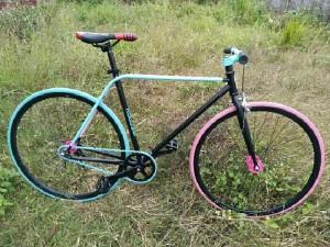 Xe đạp khung crom