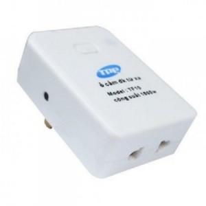 Ổ cắm điều khiển từ xa hồng ngoại và RF TPE TF10
