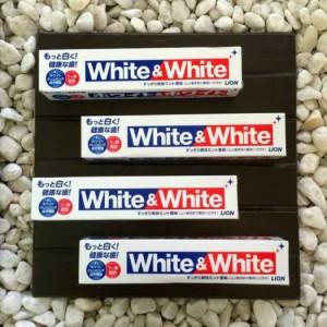 Kem đánh răng white & white - Nhật Bản