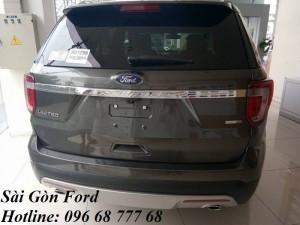 Mua Ford Explorer giá rẻ tại Tiền Giang, trả góp lãi suất thấp, giao xe nhanh