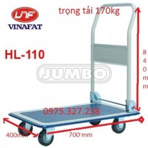 Xe đẩy hàng Jumbo Thái Lan, xe kéo tay nhập khẩu, xe đẩy hàng Jumbo HL-110