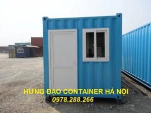 Bán container 20 feet cũ giá rẻ