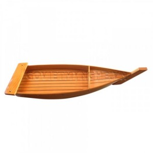 Khay Thuyền Gỗ Sushi-Sashimi Không Cột Buồm 50cm