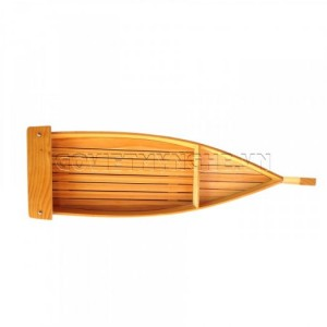 Khay Thuyền Gỗ Sushi-Sashimi Không Cột Buồm 60cm