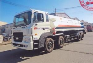 Hyundai hd320 chở xăng dầu 22 khối