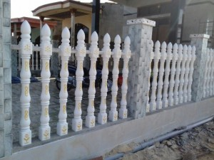 Hàng rào bê tông ly tâm - tiết kiệm 80% chi phí bảo dưỡng