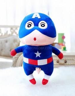 Gấu bông Shin Captain America