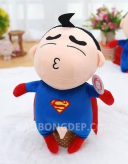 Gấu bông Shin Superman