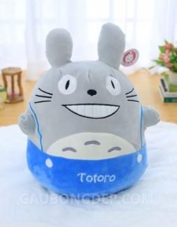 Gấu bông Totoro nhung quần xanh