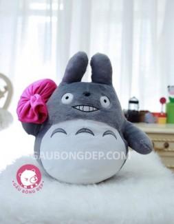 Gấu bông King Totoro mang túi hồng