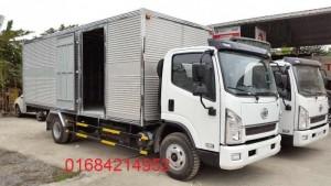 Xe Faw 6.95 tấn thùng 5m1 rộng 2m05, động cơ mạnh mẽ tích kiệm nhiên liệu