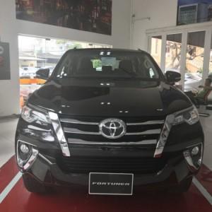 Bán Toyota Fortuner 2.7V (4x2), máy xăng, 01 cầu, số tự động, màu Nâu, giao ngay, trả góp lãi suất chỉ 0.5%