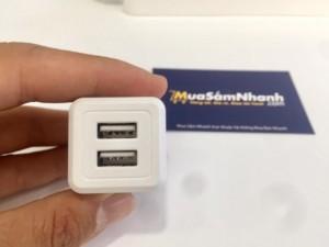 Thiết kế bền, nhỏ gọn, 2 USB tiện lợi