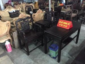 Cần bán gấp bộ Vách Việt gỗ gụ mật cũ lâu năm