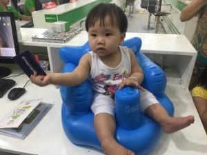 Ghế hơi tập ngồi cho bé từ 7 tháng đến 2...