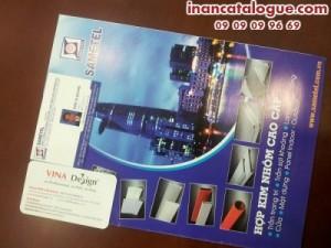 In catalogue offset mang đến giá thành in ấn rẻ, chất lượng thành phẩm in catalogue đẹp, chất lượng, màu sắc sắc nét
