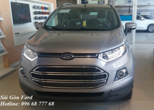 Ford Ecosport Titanium trả góp tại Tphcm, vay lãi suất thấp, giao xe nhanh