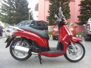 Kymco Solona 165 Kiểu Dáng SH 300i Tuyệt Đẹp...