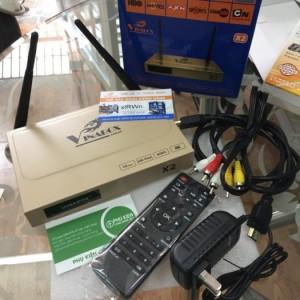 Tivi Box Vinabox X2 Mới 100% giá rẻ. Bảo hành 1 năm