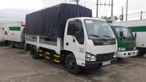 Bán xe tải Isuzu 1.2 tấn QKR55F thùng lửng xuất xứ Nhật Bản - Việt Nam 2017