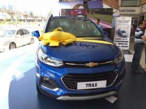 Chevrolet Trax nhập khẩu nguyên chiếc, trả trước 5% giao xe ngay