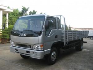Tặng ngay 100% lệ phí trước bạ cùng 500l dầu khi mua xe tải JAC 6T4