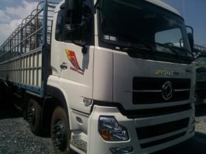 Chuyên mua bán xe tải dongfeng 4 chân 18 tấn thùng bạt, đời mới, vay NH cao