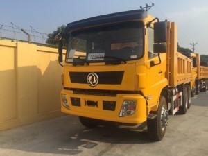 Xe tải ben tự đổ Dongfeng nhập khẩu 13.2 tấn