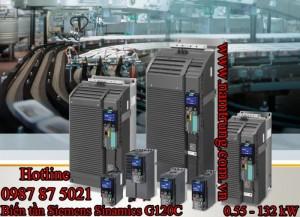 BIẾN TẦN SIEMENS G120C mở rộng dãi công suất lên đến 132kW