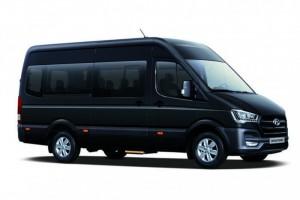 Giá xe khách 16 chỗ Thaco Hyundai Bus Mini H350 tiêu chuẩn Châu Âu,phong cánh sang trọng,quý phái,giá siêu ưu đãi.