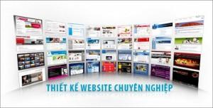 Thiết kế web chuyên nghiệp giá cạnh tranh