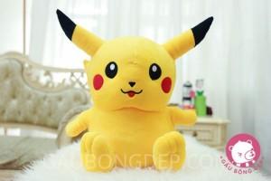 Gấu bông Pokemon Pikachu ngồi