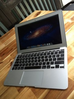 ==> Macbook air MD214, 11,6in, core i7, 4G, ssd 256G, zin100%.