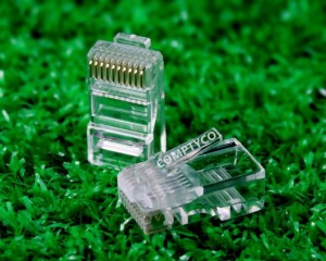 Đầu bấm rj45 amp Cat5e, đầu bấm RJ50 giảm giá sốc