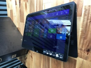Laptop sony vaio Flip svf13N24CXB, i5 4200, 8G, ssd 128G, Full HD, Full box, giá rẻ