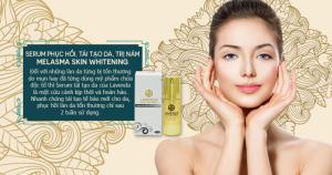 Hướng dẫn thoa serum đúng cách:  1. Làm sạch và làm nóng bàn tay trước khi lấy sản phẩm.  2. Cho một lượng vừa đủ serum vào lòng bàn tay và làm nóng serum.  3. Chấm serum làm 5 điểm trên khuôn mặt sau đó massage nhẹ nhàng cho serum thẩm thấu vào da.  Bạn có thể chỉ sử dụng Serum Melasma Skin Whitening hoặc kết hợp bộ sản phẩm chăm sóc da cao cấp của cùng thương hiệu Lavenza để đạt hiệu quả dưỡng da tốt nhất.  P/s: Bảo quản ở nơi thoáng mát, tránh ánh nắng trực tiếp.