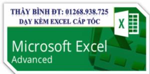 Dạy Excel cấp tốc cho người đi làm - Thầy...