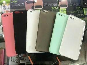 Ốp lưng iphone 6 6plus 7 7plus siêu mỏng 0.4mm