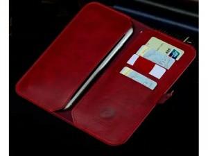 Ví da đựng điện thoại, tiền và giấy tờ đa năng