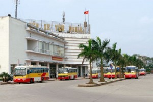 Xe chạy tuyến Giao Thủy tới bến xe Yên Nghĩa
