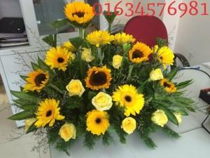 Thông báo khai giảng lớp cắm hoa tươi nghệ thuật