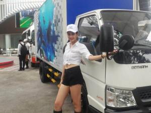 Xe Tải mới ra của DoThanh, IZ49 tải trọng 2,3 tấn vào được thành phố
