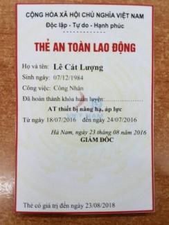 Huấn Luyện An Toàn Lao Động Tại Nha Trang