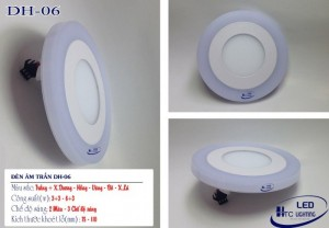 Đèn âm trần thạch cao HTC06