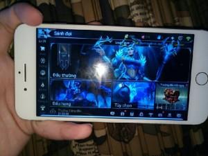 Iphone 7plus rẽ và manh on cả lien quan